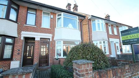 This property in Locarno Road, Ipswich, has no onward chain. Picture: Marks & Mann