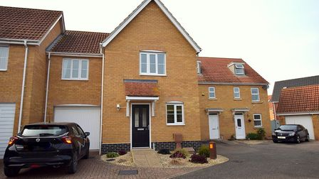 This home in Spicer Way, Great Cornard, is currently available. Picture: FENN WRIGHT