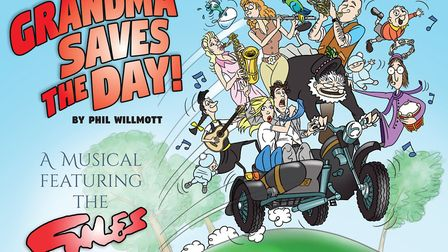Grandma Saves The Day brings the work of Ipswich cartoonist Carl Giles to life on the stage of the N