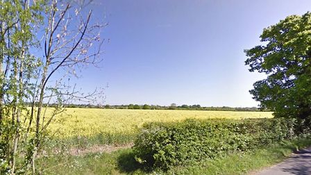 Poultry sheds could be built on land to the east of Woodlane Road in Southolt Picture: GOOGLE MAPS