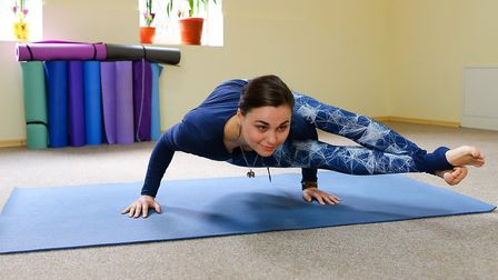 I've had to give up doing the downward facing dog, which is a shame,,, Picture: Getty Images/iStockp