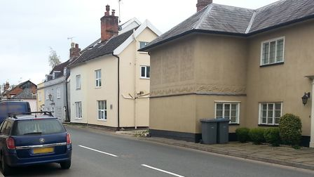 A boy was knocked off his scooter in Yoxford High Street Picture: SUFFOLK POLICE