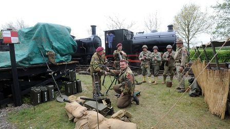 The Middy in the war years event at the Mid Suffolk Light Railway is always popular.