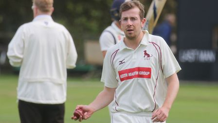 James Poulson, who took three for 23 in Sudbury's win at Great Witchingham. Picture: GARY DONNISON