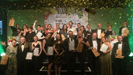 Winners of the Food and Drink Awards 2019 Picture: SARAH LUCY BROWN