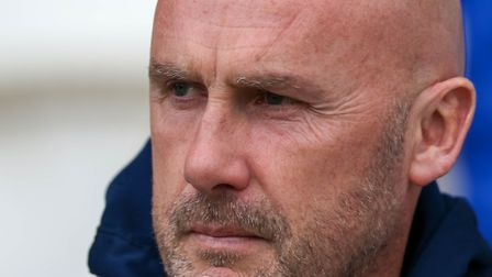 Colchester United head coach John McGreal will try to plot Lincoln City's downfall Picture: Steve W