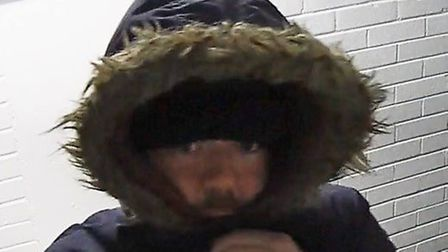 Essex Police are looking to speak to the man pictured in connection with a theft. Picture: ESSEX POL