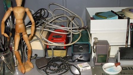 A life packed up. Artefacts from the Carl Giles archive held at the University of Kent in 2007