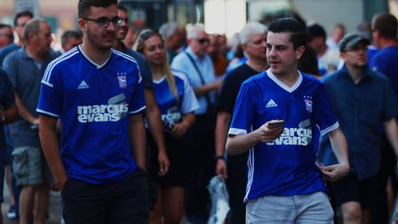 There is expected be a good atmosphere in Portman Road this afternoon for Ipswich Town's match again