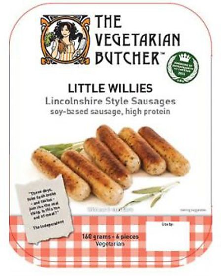 The Vegetarian Butcher has recalled Little Willies Lincolnshire Style Sausages because they may cont