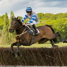 Sandygate and Alex Chadwick were popular winners of the Open Maiden race at Northaw. Picture: GRAHAM