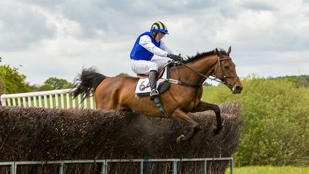 Phil York aboard Legal OK on the way to victory at Northaw. Picture: GRAHAM BISHOP PHOTOGRAPHY