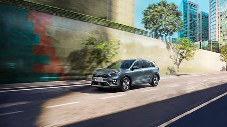 The Niro features a fresher exterior design PICTURE: PA