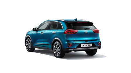 Refreshed Kia Niro Hybrid and plug-in go on sale PICTURE: PA