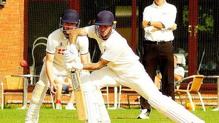 Ashley Watson, who scored 41 in Frinton's victory over Burwell & Exning, in the East Anglian Premier