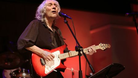 Guitarist Albert Lee who has played alongside Eric Clapton, Emmylou Harris and The Everly Brothers