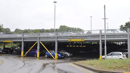 Manningtree station car park is due to be extended. Picture: ARCHANT FILES