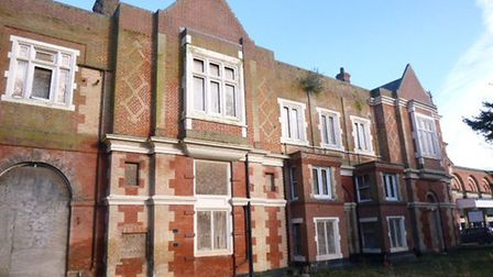 The station master's house in Bury St Edmunds is to be restored Picture: GREATER ANGLIA