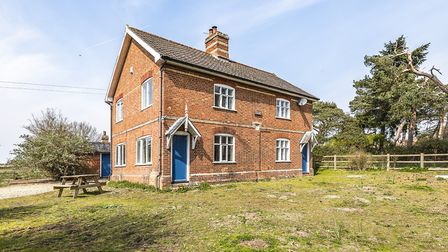 Scotts Hall Cottage on the Minsmere nature reserve. Picture: SAVILLS