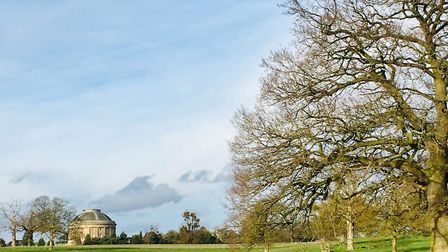 The grounds of Ickworth House in Suffolk are perfect for exploring with your children Picture: LAURA