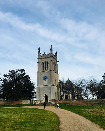 Jason Noble reccomends you take a walk to the church near to Ickworth House Picture: LAURA HUTTON