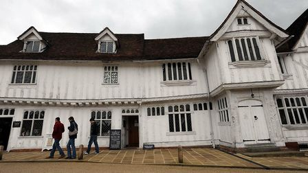 Lavenham Guildhall and the surrounding village is another great National Trust gem hidden in Suffolk