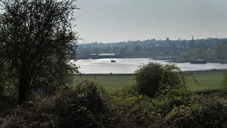 Visitors can now enjoy new walks around the grounds of Sutton Hoo with spectacular view of the river