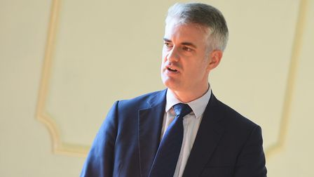 James Cartlidge called for a change to BBC funding. Picture: GREGG BROWN