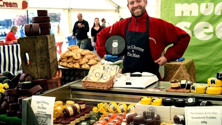 A range of local produce will be on offer at the popular Adnams Food Hall at the Suffolk Show Pictu