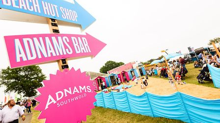 Leading artisan producers will be serving up local delights in the Adnams Beach Eats and Greene King