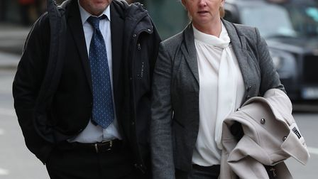 Corrupt detectives Sharon Patterson and Lee Pollard were jailed at the Old Bailey Picture: JONATHAN