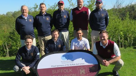 The Suffolk second team who started their Anglian League campaign with victory over Leicestershire,