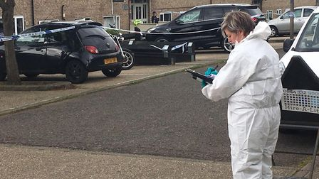 Mr Brown was stabbed to death in Buffett Way in the early hours of Tuesday, May 7 Picture: ARCHANT