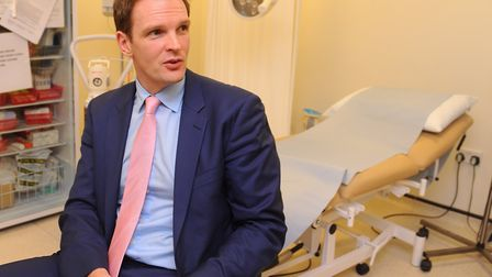 Dr Dan Poulter works part time as a mental health doctor as well as being MP for Central Suffolk and