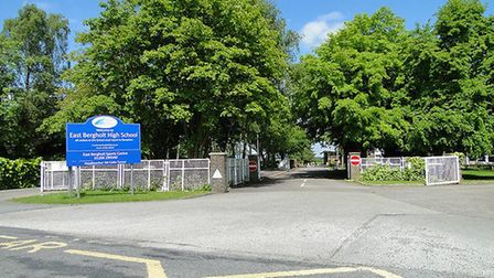 The student who was approached attends East Bergholt High School. The school has warned parents of t