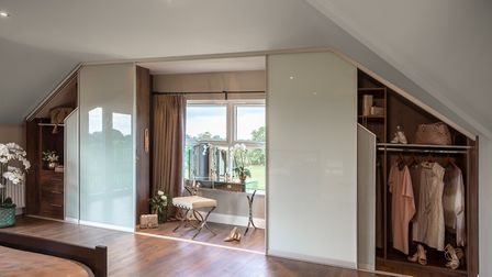 Sliderobes can help you to make the most of any awkward spaces in your home