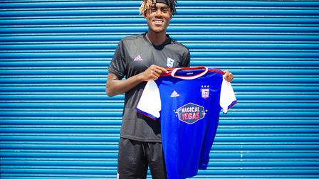 Paul Hurst signed Trevoh Chalobah on a season-long loan from Chelsea. Photo: Ipswich Town FC