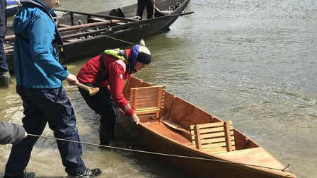 The boats were the first to be built in Whisstocks in 29 years. Picture: Victoria Pertusa