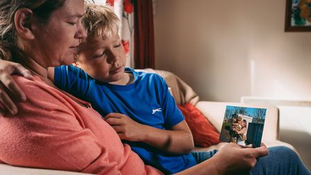 Mandy and Jamie Small, who have appeared in a film to help raise awareness for SSAFA. Picture: SSAFA