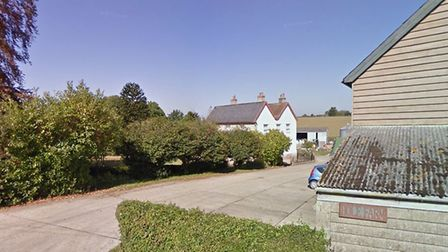 Hole Farm in Belchamp St Paul, where the proposed chicken farm would be located. Picture: GOOGLE MAP