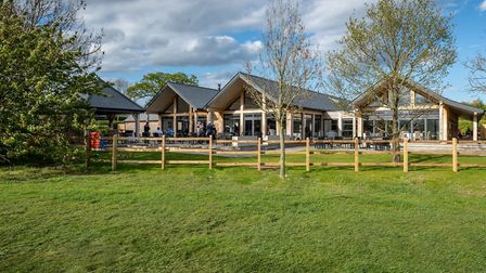 The Caf� Terrace boasts stunning views of the surrounding golf course Picture: FYNN VALLEY CAFE TER