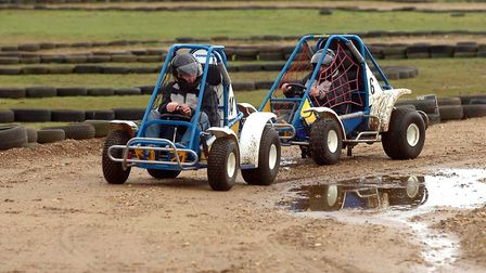 Beacon Rally Karts Picture: PHIL MORLEY