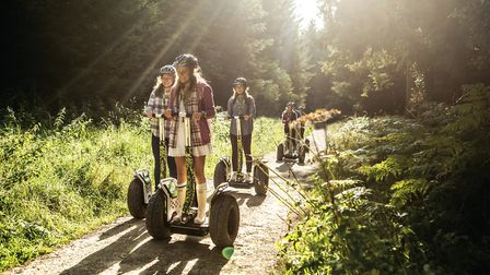 A Go Ape Forest Segway site Picture: Contributed