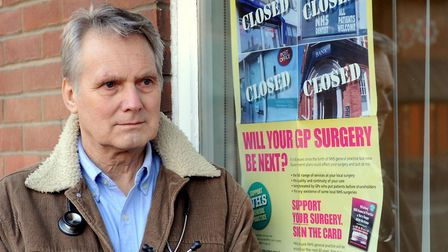Dr John Cormack, who recently retired from his job as a GP, said the system was in crisis Picture: I