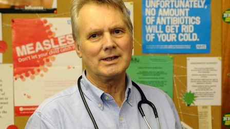 Dr John Cormack, who worked as a GP in Essex for 40 years Picture: IAN NICHOLSON/PA WIRE