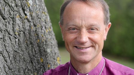 The Rt Revd Mike Harrison, Bishop of Dunwich, will be at one of the 'Grill a Christian' nights in Su