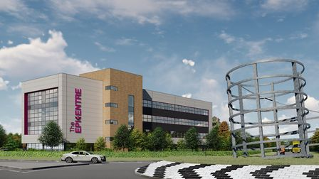The Epicentre at Haverhill Research Park will now be built in a differerent location Picture: JAYNIC