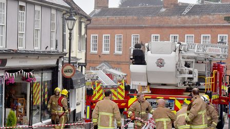 Stephen Wilson was jailed for nine years after a �1.8m arson attack at David Patrick's Halesworth ne