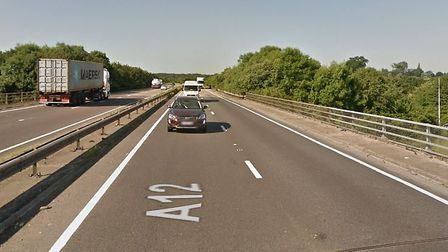 The crash, involving a white Hyundai i10 on the A12 near Chelmsford, left a 68-year-old woman from C