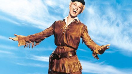 Doris Day in Calamity Jane, the movie musical that made her a star Photo: Warner Bros